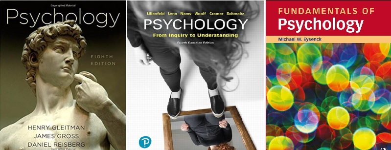 showcase examples of psychology textbooks